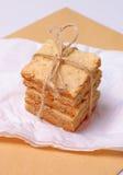 Biscoitos Crunchy com rosemary imagens de stock