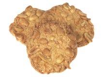 Biscoitos Crunchy do amendoim Imagem de Stock Royalty Free