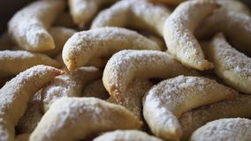 Biscoitos da baunilha do Natal foto de stock royalty free