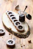 Biscoitos da baunilha do vegetariano Imagens de Stock