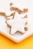 Biscoitos da canela Foto de Stock Royalty Free