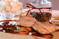 Biscoitos da canela Imagens de Stock