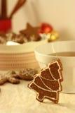 Biscoitos da canela Fotografia de Stock