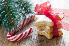 Biscoitos da canela Foto de Stock