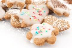 Biscoitos da canela geados Imagens de Stock Royalty Free