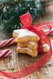 Biscoitos da canela para o Natal Imagens de Stock Royalty Free