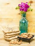 Biscoitos da farinha da amêndoa fotos de stock royalty free
