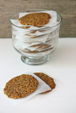 Biscoitos de Anzac Fotos de Stock Royalty Free