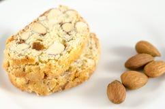 Biscoitos de Biscotti Foto de Stock Royalty Free