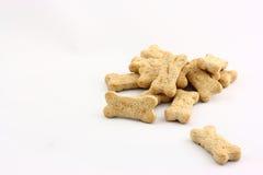 Biscoitos de cão fotografia de stock