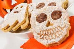 Biscoitos de Dia das Bruxas Foto de Stock Royalty Free
