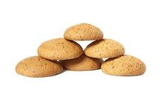 Biscoitos de farinha de aveia Imagem de Stock