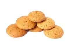 Biscoitos de farinha de aveia Imagem de Stock Royalty Free