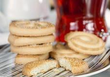 Biscoitos de manteiga Fotografia de Stock Royalty Free