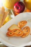Biscoitos de manteiga Imagem de Stock