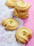 Biscoitos de manteiga Fotografia de Stock