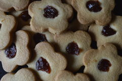 Biscoitos de manteiga caseiros Foto de Stock