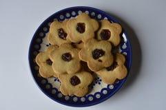 Biscoitos de manteiga caseiros Fotos de Stock