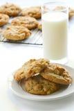 Biscoitos de manteiga caseiros do amendoim Imagens de Stock