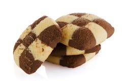 Biscoitos de manteiga deliciosos Fotografia de Stock