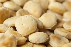 Biscoitos de ostra crocantes orgânicos Imagem de Stock