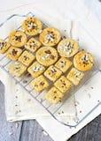 Biscoitos de Rye foto de stock royalty free