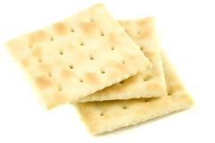 Biscoitos de soda Fotografia de Stock
