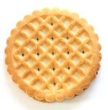 Biscoitos de uma manteiga do shortbread imagem de stock