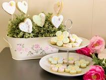 Biscoitos decorados Fotografia de Stock