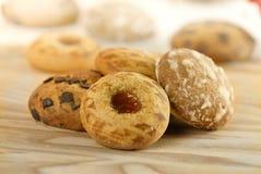 Biscoitos decorativos Fotografia de Stock