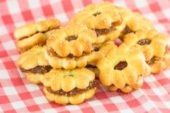 Biscoitos do abacaxi Imagens de Stock Royalty Free