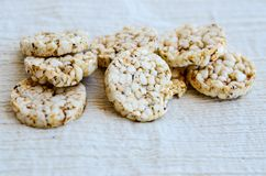 Biscoitos do arroz Fotografia de Stock Royalty Free