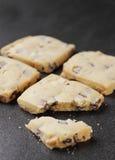 Biscoitos do biscoito amanteigado Imagens de Stock Royalty Free