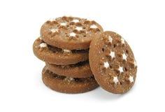 Biscoitos do cacau Imagem de Stock Royalty Free