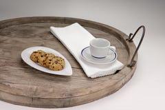 Biscoitos do chocolate Imagens de Stock Royalty Free