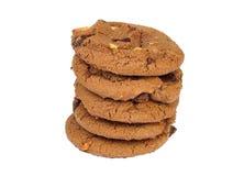 Biscoitos do chocolate Imagens de Stock