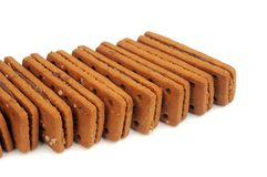 Biscoitos do chocolate Foto de Stock