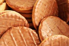 Biscoitos do chocolate Fotografia de Stock