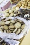 Biscoitos do chocolate Imagem de Stock