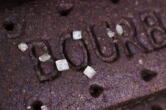 Biscoitos do chocolate de Bourbon imagem de stock
