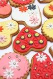 Biscoitos do coração Imagens de Stock Royalty Free
