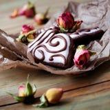 Biscoitos do dia de Valentine´s Imagens de Stock Royalty Free