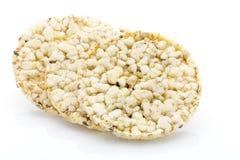 Biscoitos do milho no fundo branco isolado Foto de Stock Royalty Free