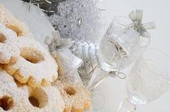 Biscoitos do Natal fotografia de stock