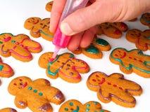 Biscoitos do pão-de-espécie Fotos de Stock Royalty Free