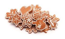 Biscoitos do pão-de-espécie Fotografia de Stock