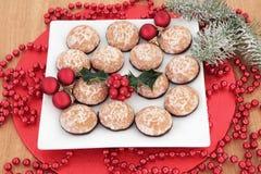 Biscoitos do pão-de-espécie Foto de Stock