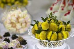 Biscoitos do pêssego Imagens de Stock Royalty Free