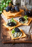 Biscoitos do queijo azul. imagem de stock royalty free