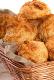 Biscoitos do queijo de queijo Cheddar imagem de stock royalty free